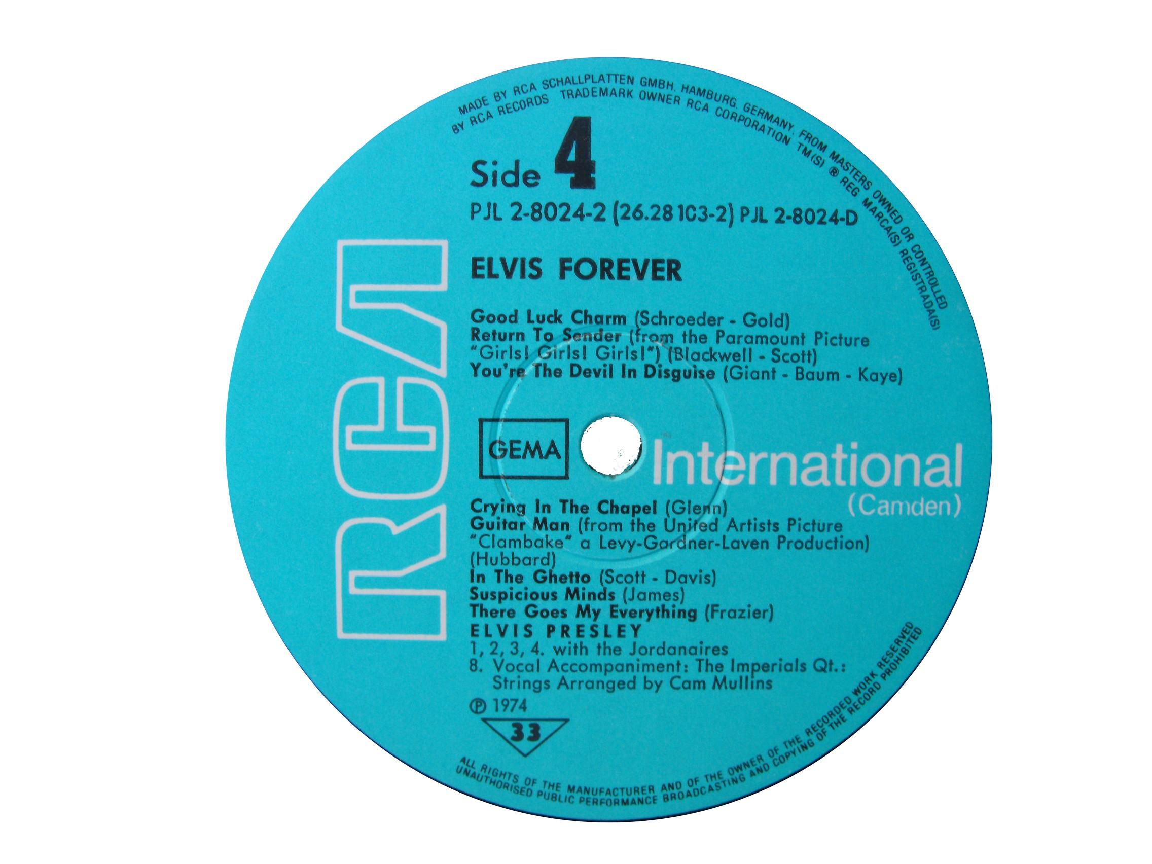 ELVIS FOREVER - 32 HITS Efside41975qddnw