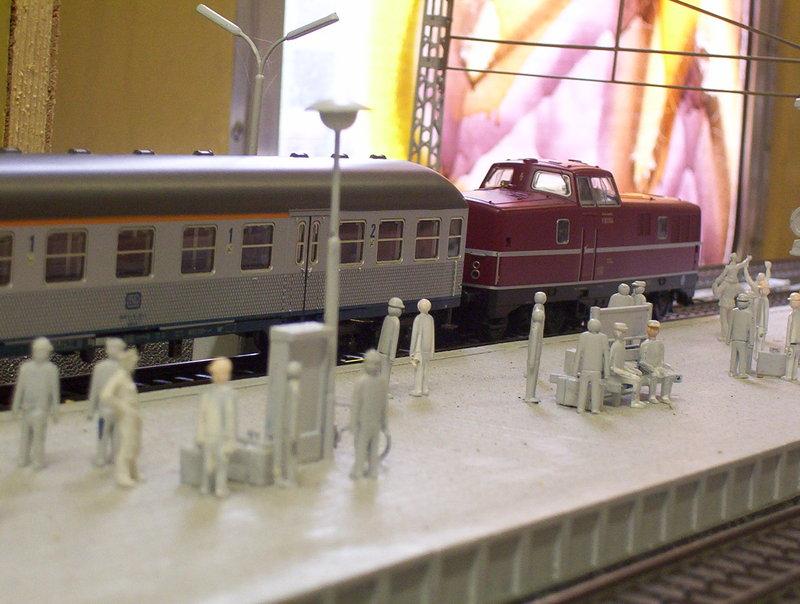 """Märklin Eilzug """"der Bamberger"""" Eisenbahn054saqs8"""