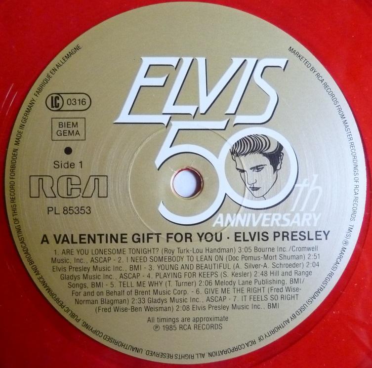 RCA LP-Label-Spiegel der Bundesrepublik Deutschland Elvis-34hsb0