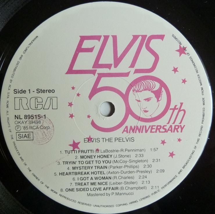 RCA LP-Label-Spiegel der Bundesrepublik Deutschland Elvis-3weissc7s7j