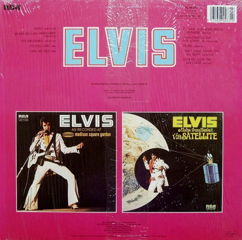 ELVIS (FOOL) Elvisfool85rckseite1ladi