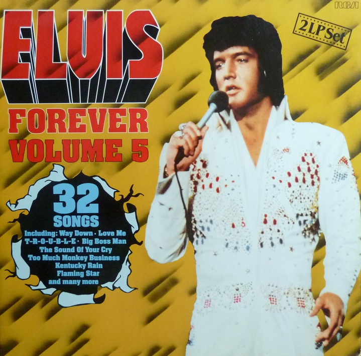 ELVIS FOREVER Vol. 5 Elvisforever587frontwyu66