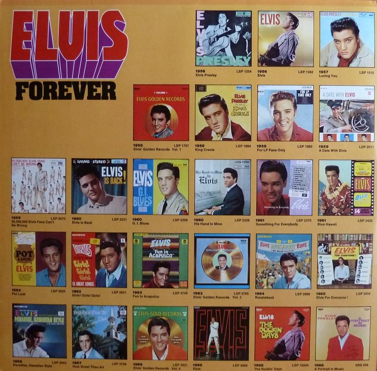 ELVIS FOREVER - 32 HITS Elvisforever74innenlihoc8b