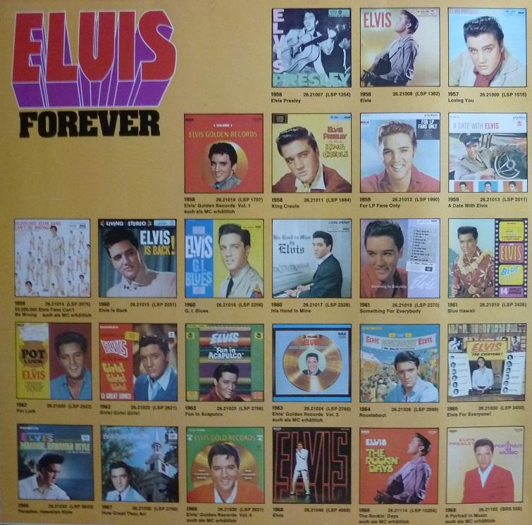 ELVIS FOREVER - 32 HITS Elvisforever77innenli7aikp