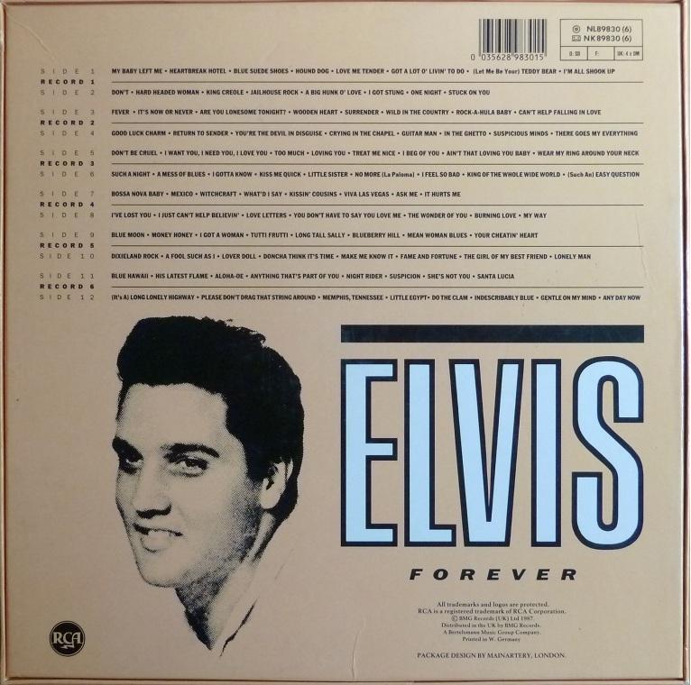 ELVIS FOREVER - 96 HITS OF THE KING Elvisforever96brckseilcibc