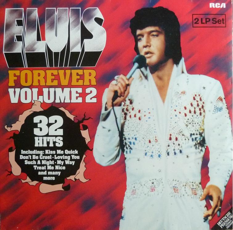 ELVIS FOREVER Vol. 2  Elvisforeverii80fronttjeat