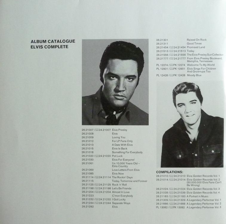 ELVIS FOREVER Vol. 2  Elvisforeverii80innenhjc85