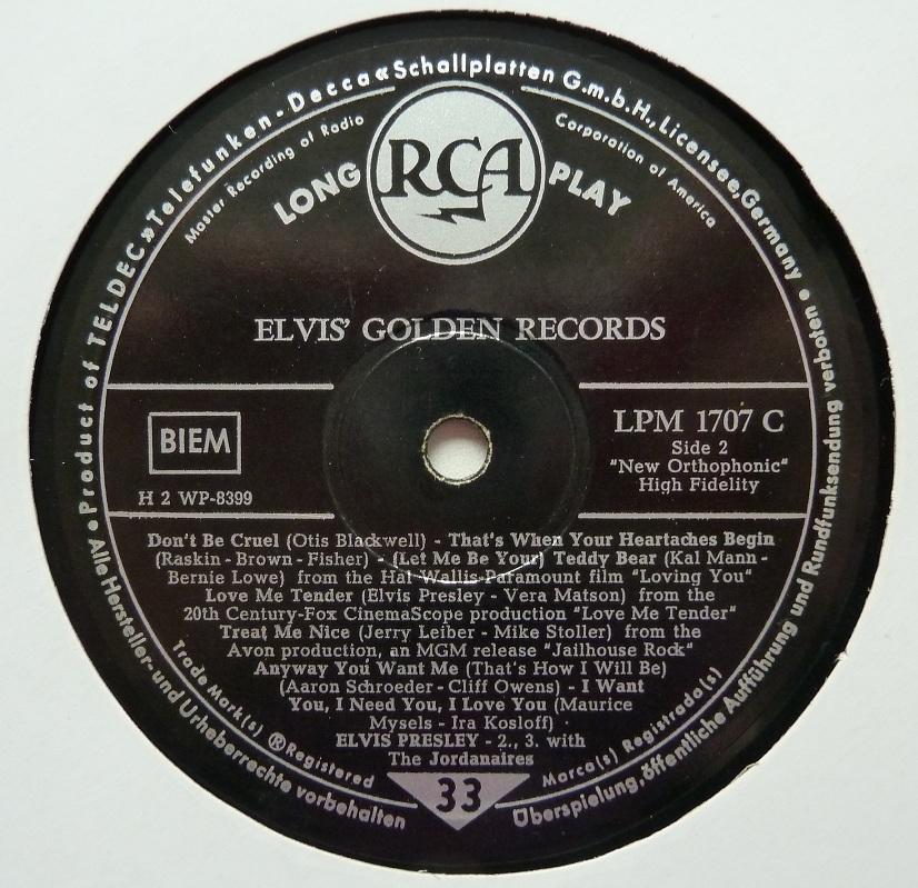 ELVIS' GOLDEN RECORDS Elvisgoldenrecords58sjzllc