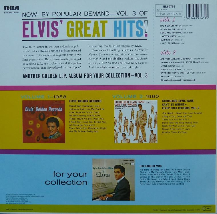ELVIS' GOLDEN RECORDS VOL. 3 Elvisgoldenrecordsvolh8q1z
