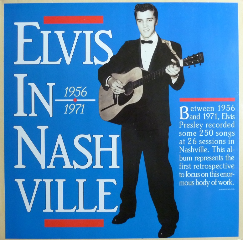 ELVIS IN NASHVILLE Elvisinnashvillefrontg3u74
