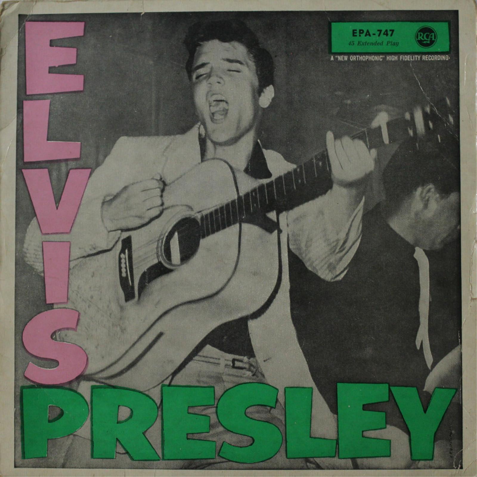 ELVIS PRESLEY Epa747ailk9k