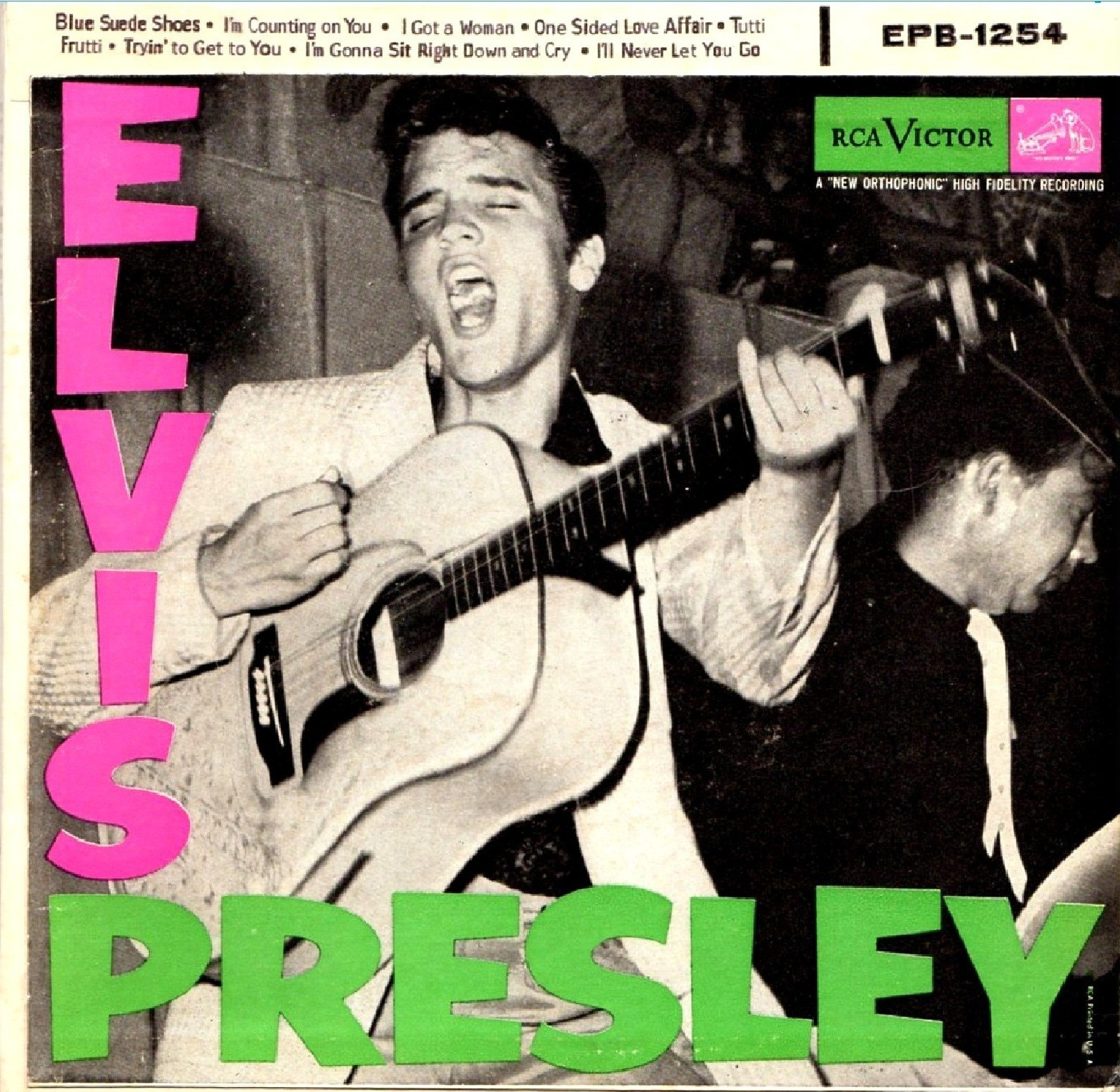 ELVIS PRESLEY Epb-1254a1bywr