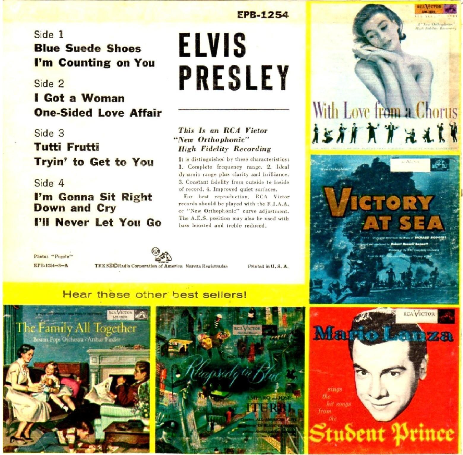 ELVIS PRESLEY Epb-1254bi9agr
