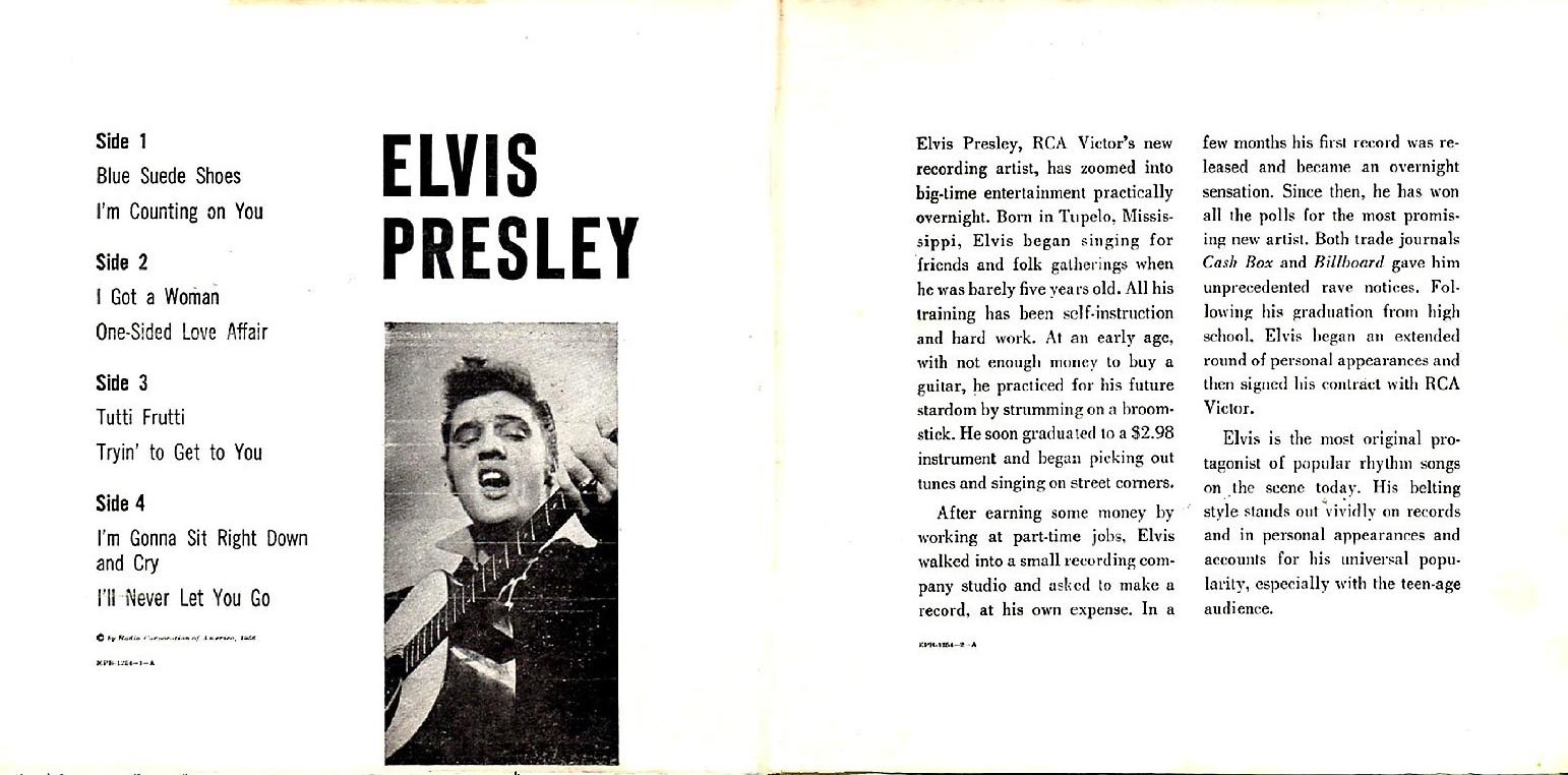 ELVIS PRESLEY Epb-1254cjyb0y