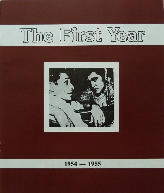 ELVIS, SCOTTY AND BILL - THE FIRST YEAR Firstyearbooklet1d3d0h
