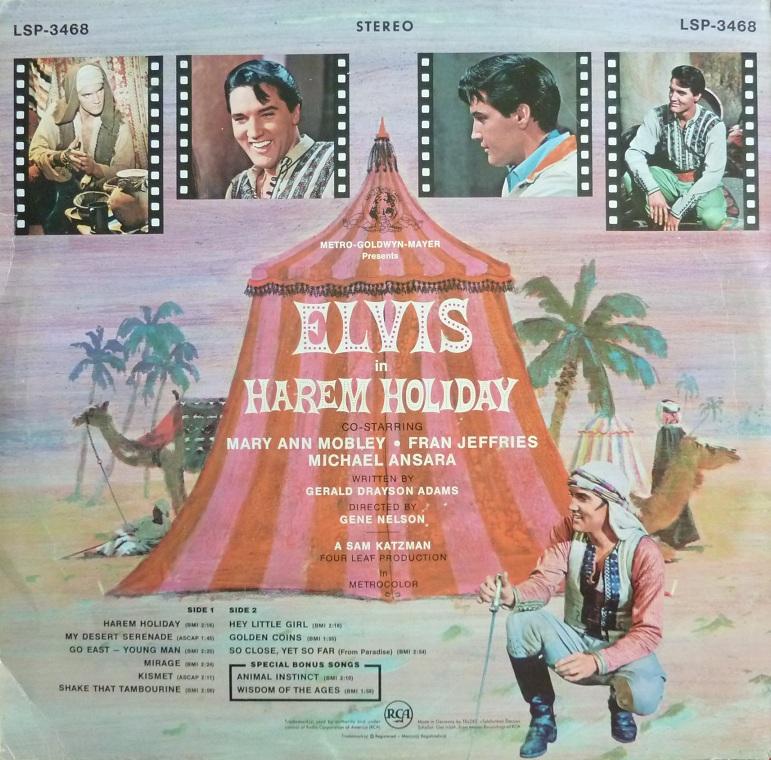 HAREM HOLIDAY Harem66rckseite29czx