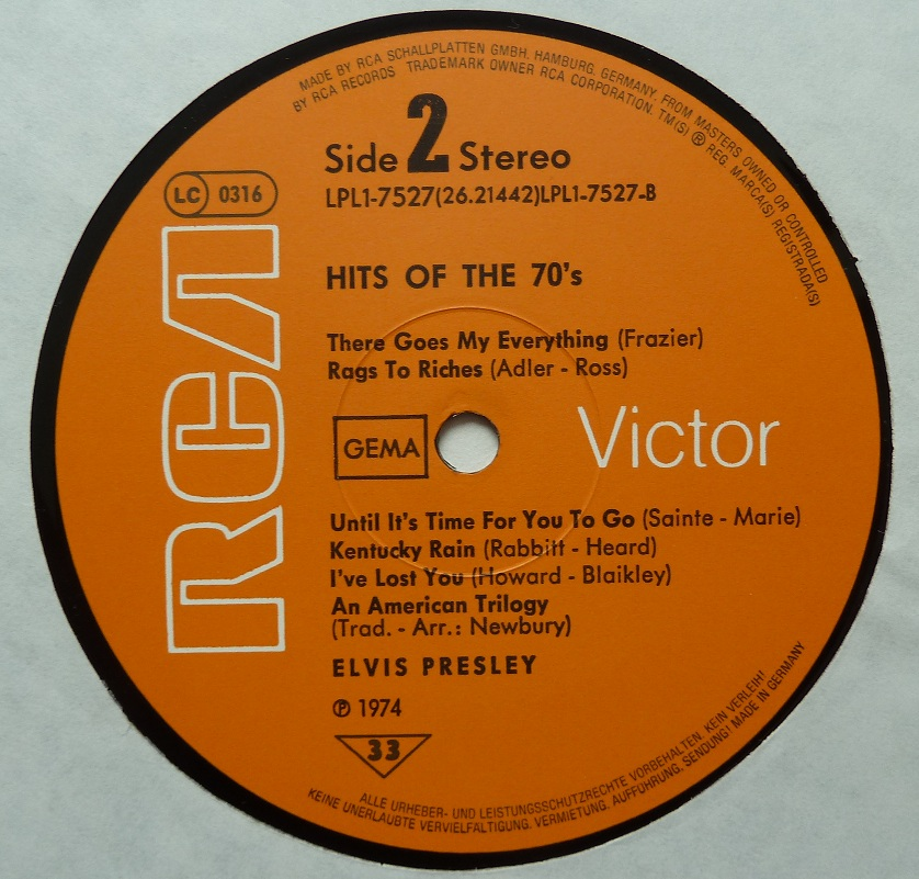 HITS OF THE 70´S Hitsofthe70s77side2wibdd