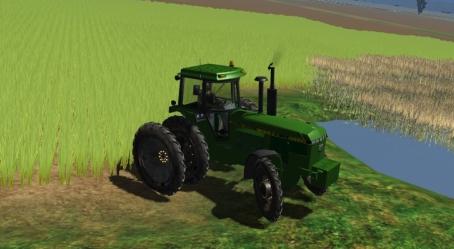 John Deere 4850 (cultivating wheel) Hj0slu