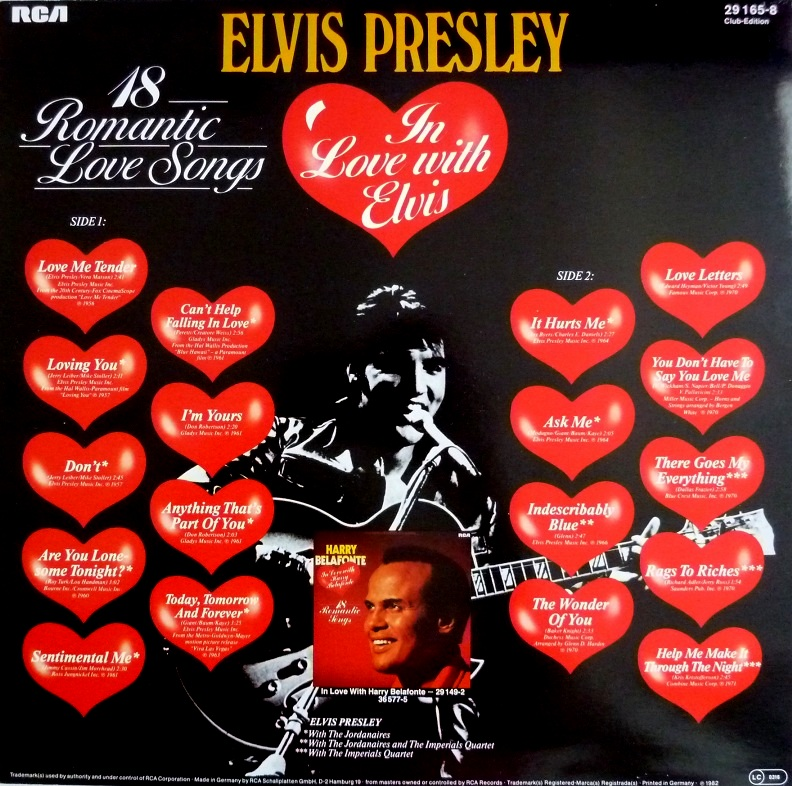 IN LOVE WITH ELVIS - 18 ROMANTIC LOVE SONGS Inlove18cerckseiteaugiy