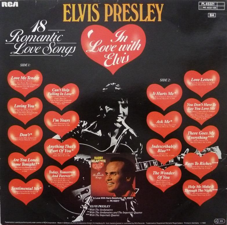 IN LOVE WITH ELVIS - 18 ROMANTIC LOVE SONGS Inlove18rckseitep5agp