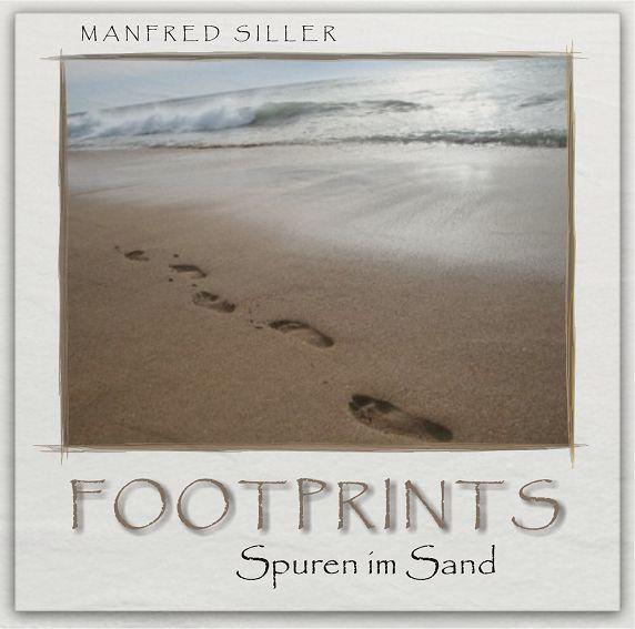 """CD-COVER: """"FOOTPRINTS - Spuren im Sand"""" K-sillermanfred2009foogn7c"""