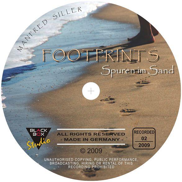 "CD-COVER: ""FOOTPRINTS - Spuren im Sand"" K-sillermanfred2009foon6uj"