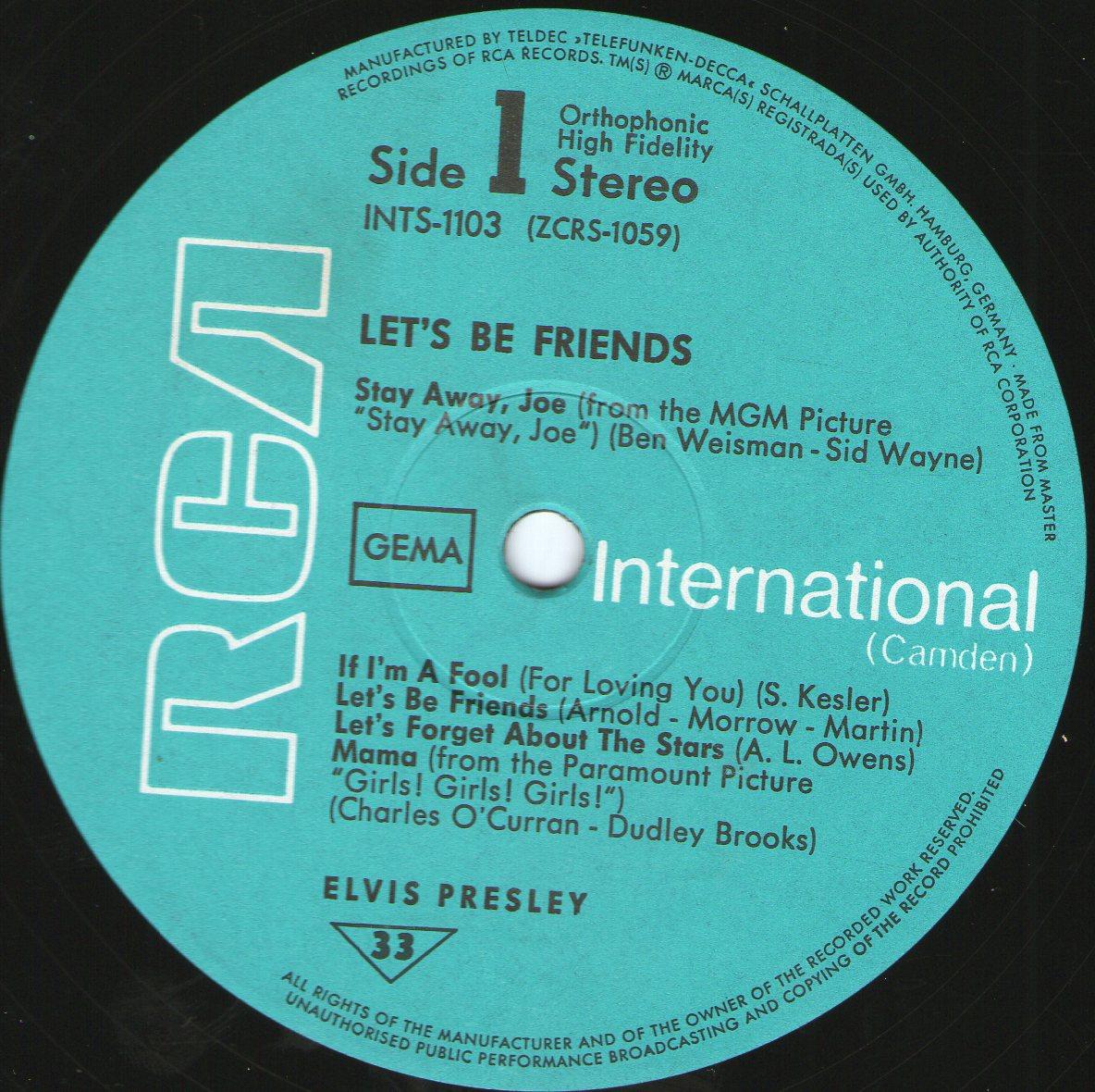 LET'S BE FRIENDS Letsbefriend26ndku