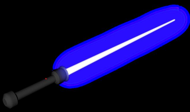 Aprende a renderizar con GIMP Lightsaberp969