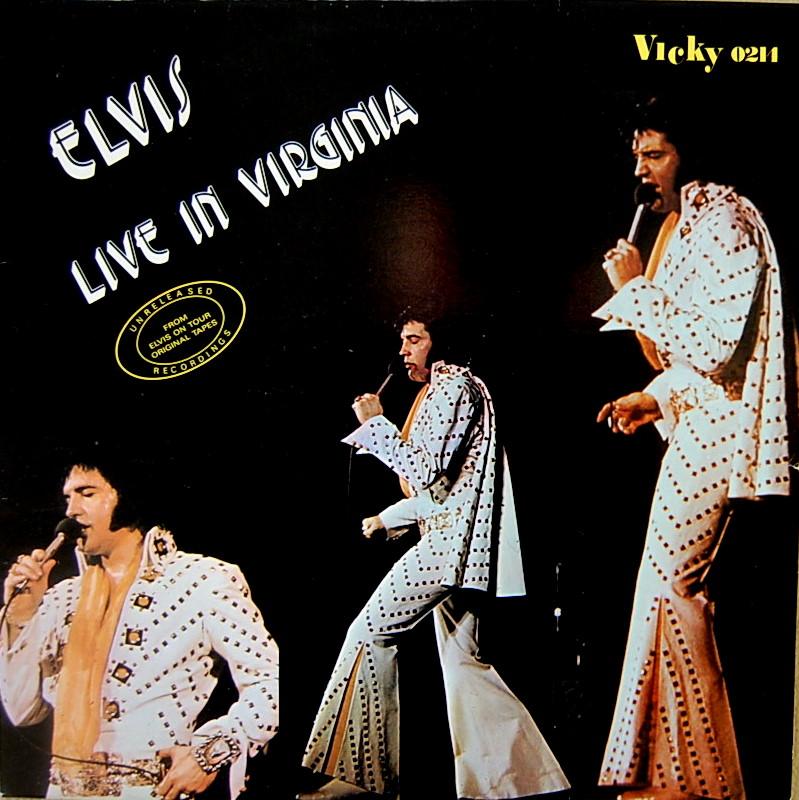 ELVIS LIVE IN VIRGINIA Lineinvirginiac2une