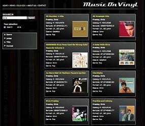 vinyl - ELVIS-LP-Übersicht  MUSIC ON VINYL Lp-index2012ot7uuz