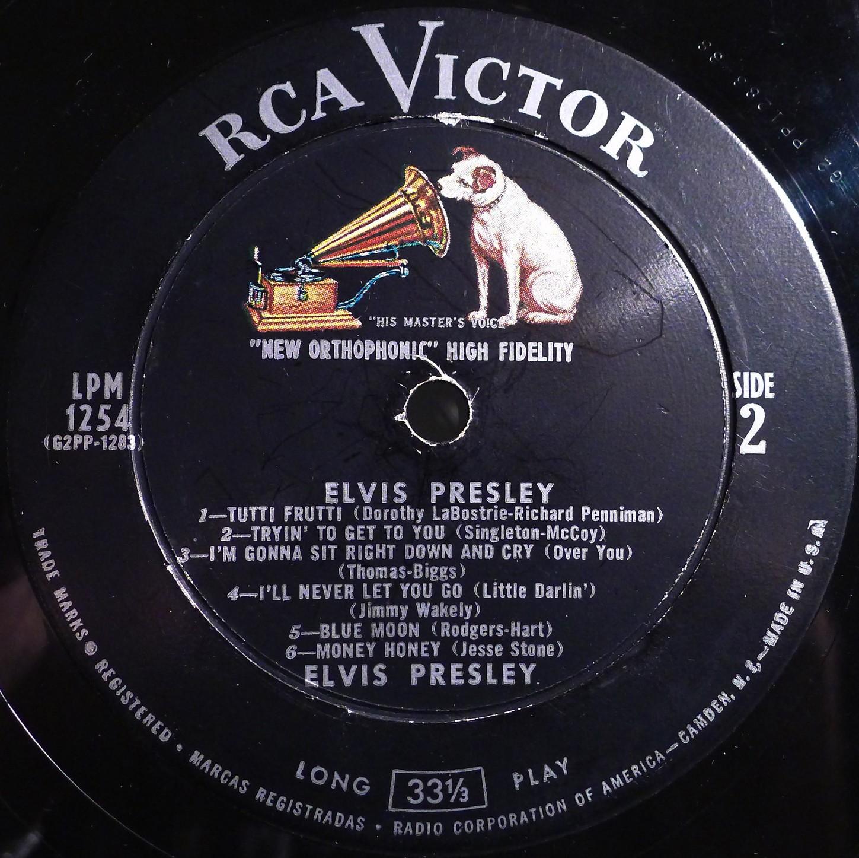 ELVIS PRESLEY Lpm1254dmxrjg