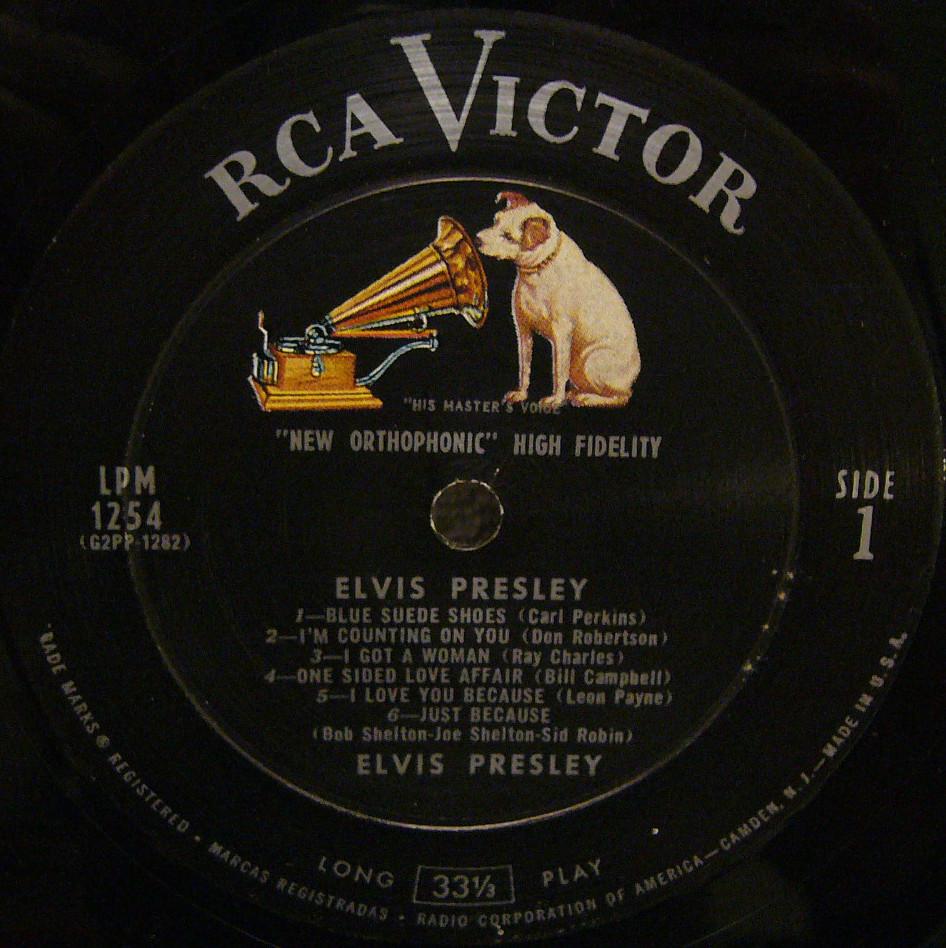 ELVIS PRESLEY Lpm1254rec3npgh