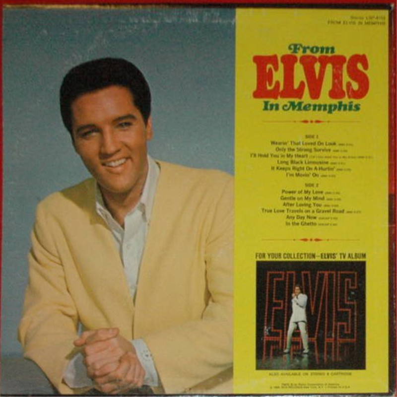 FROM ELVIS IN MEMPHIS  Lsp4155hzej5m