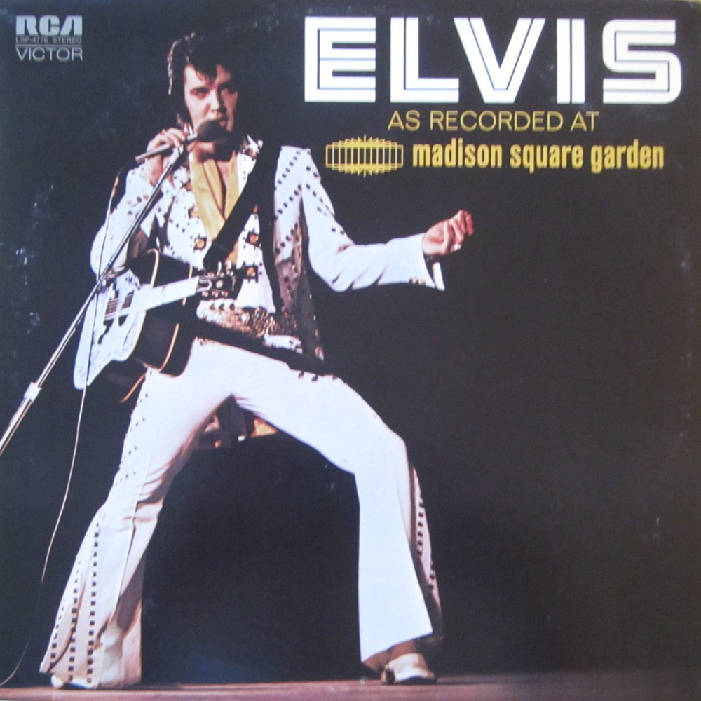 ELVIS AS RECORDED AT MADISON SQUARE GARDEN Lsp4776axipz2