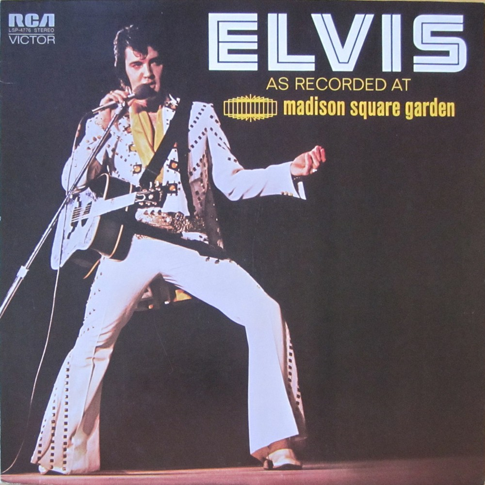ELVIS AS RECORDED AT MADISON SQUARE GARDEN Lsp4776cf6f5k
