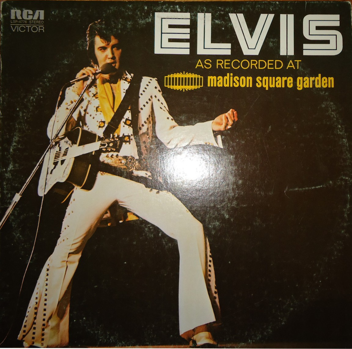 ELVIS AS RECORDED AT MADISON SQUARE GARDEN Lsp4776gcqo7h