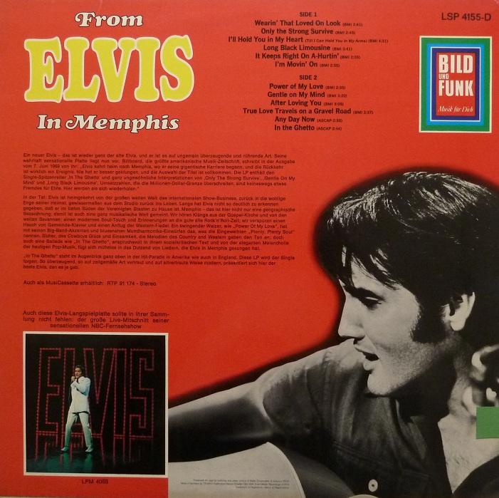 FROM ELVIS IN MEMPHIS Memphis69rckseiteo5uct