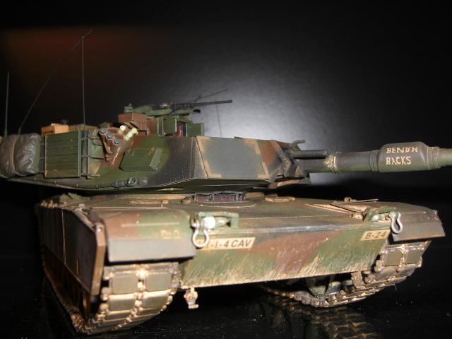 M1A1 AIM & M1A2 SEP Modellbau006ehu0