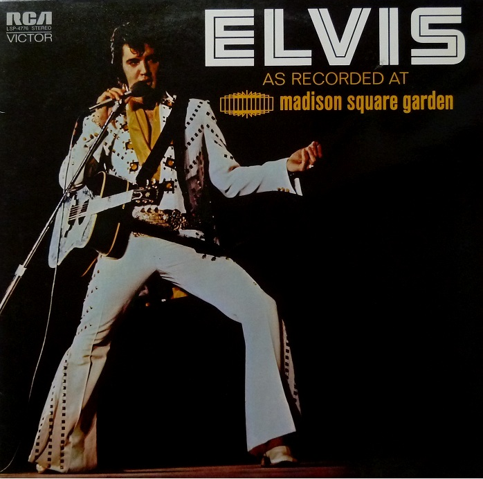 ELVIS AS RECORDED AT MADISON SQUARE GARDEN Msgfrontyqihv
