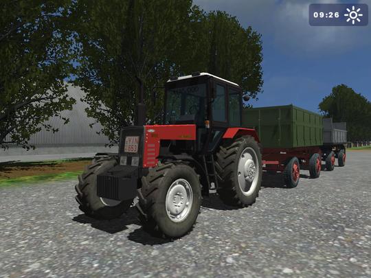 tracteur Mtz 892 Mts10z16