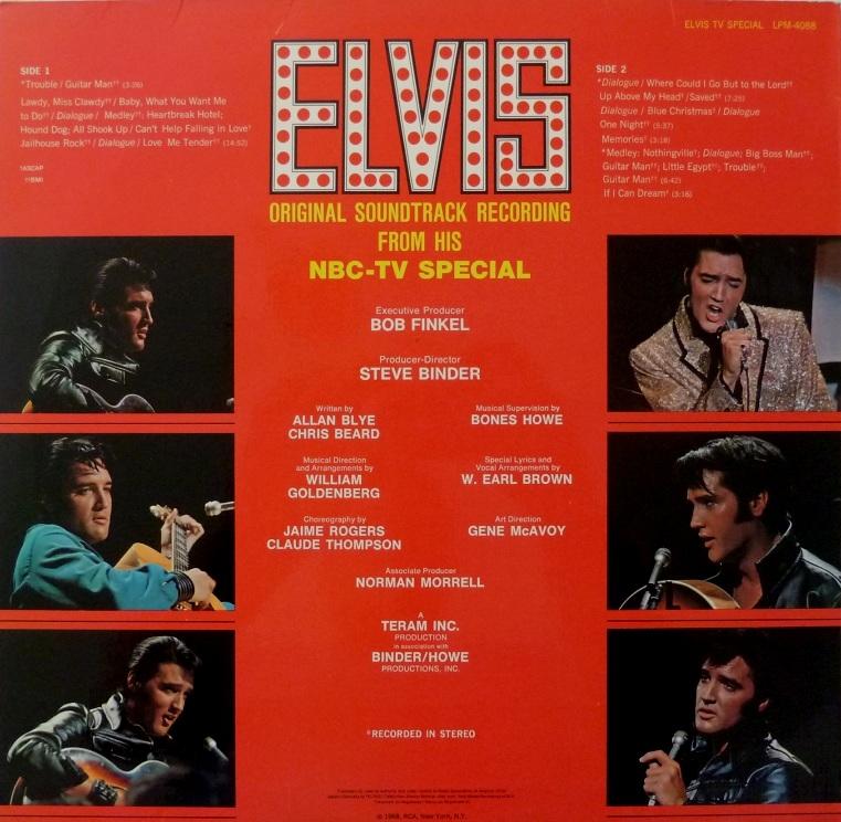 ELVIS (NBC) TV Special Nbc69rckseitewmu26