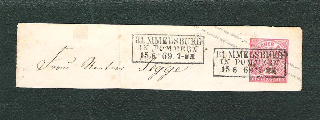 Norddeutscher Postbezirk Ndb15fjoo