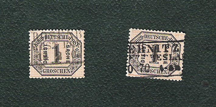 Norddeutscher Postbezirk Ndb51gban