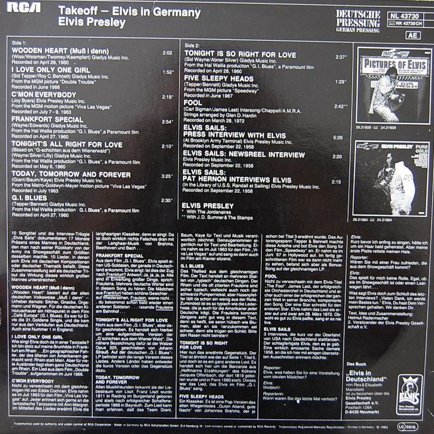 TAKEOFF - ELVIS IN GERMANY Nl-43730-2zskpx