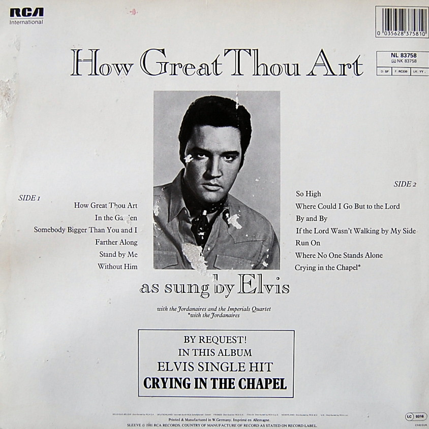 HOW GREAT THOU ART Nl-83758-2i5poh