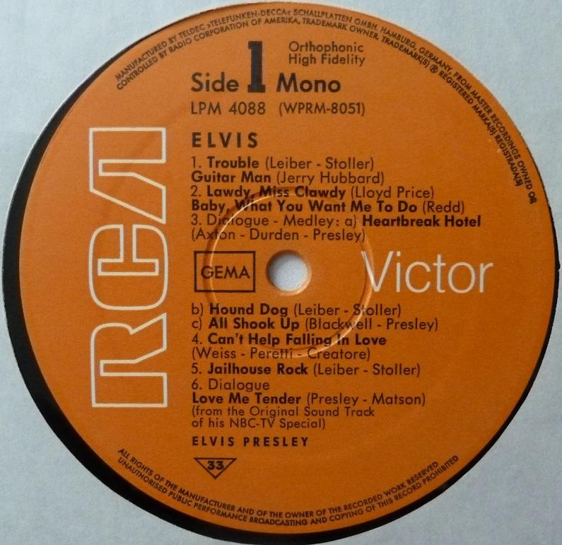 RCA LP-Label-Spiegel der Bundesrepublik Deutschland O1s3xeo