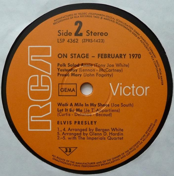 RCA LP-Label-Spiegel der Bundesrepublik Deutschland O2f7ydg
