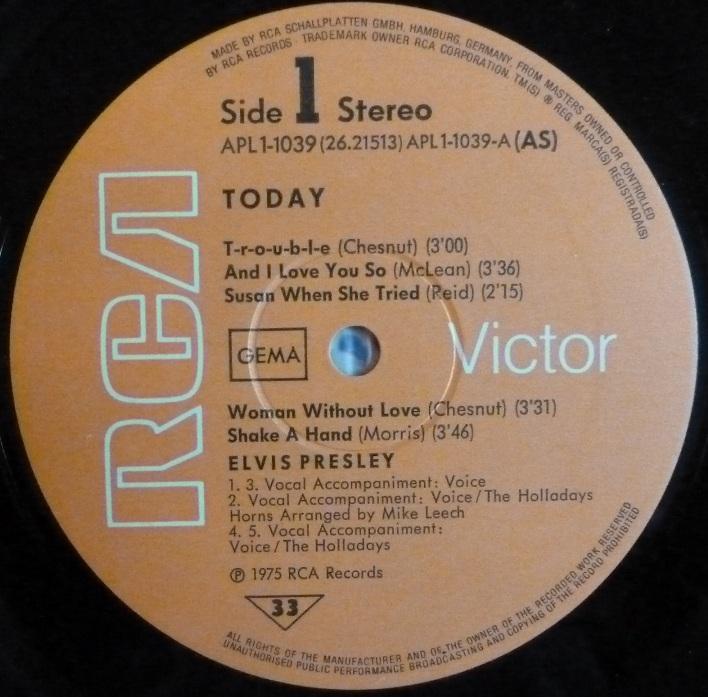 RCA LP-Label-Spiegel der Bundesrepublik Deutschland O4tay5u