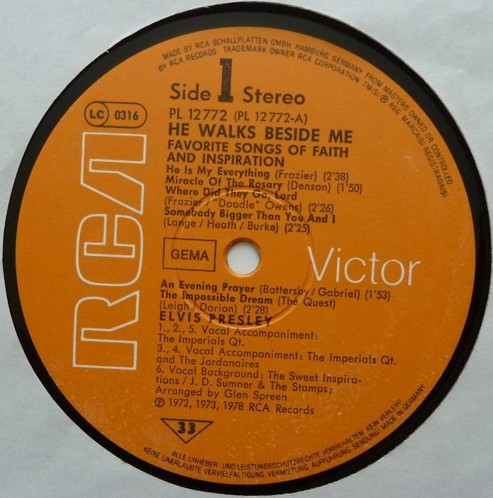 RCA LP-Label-Spiegel der Bundesrepublik Deutschland O7a3yth