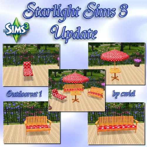 Starlight Sims 3 Update  Outdoorset010gel9